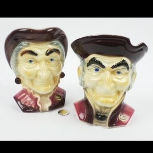 Other - Royal COPLEY heads collectibles set